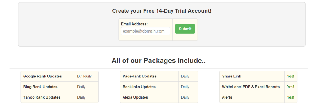 SerpBook Free 14 days-trial