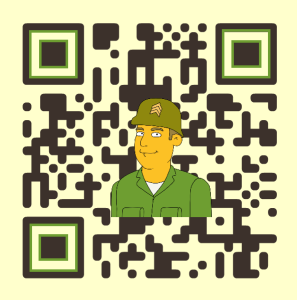 Example of a custom QR code created for ProfitArmy.com