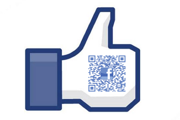QR code redirecting to the ProfitArmy Facebook page