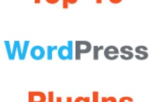 Top 10 Free WordPress PlugIns
